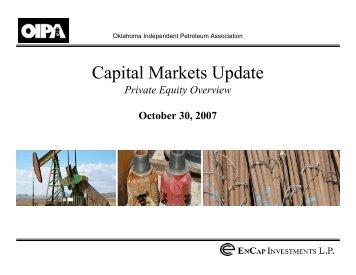 EnCap Investments LP - OIPA