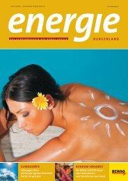 das kundenmagazin der bewag gruppe - Energie Burgenland