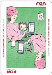 web a-kasse postkort - FOA