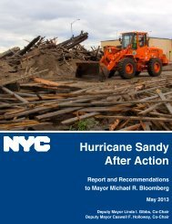 New York City Hurricane Sandy After Action Report and ...
