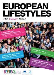 The Future Issue - SPREAD Sustainable Lifestyles 2050