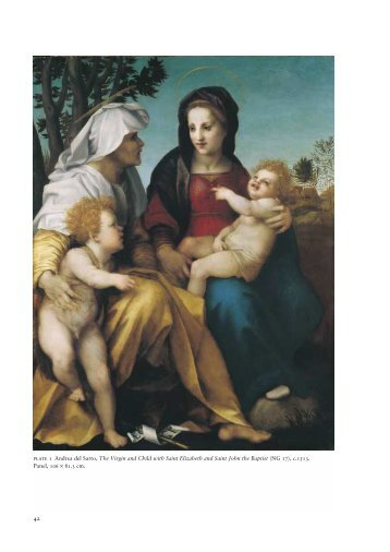 Andrea del Sarto's The Virgin and Child with... Saint Elizabeth and ...
