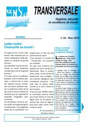 Transversale n°63 - UNSA