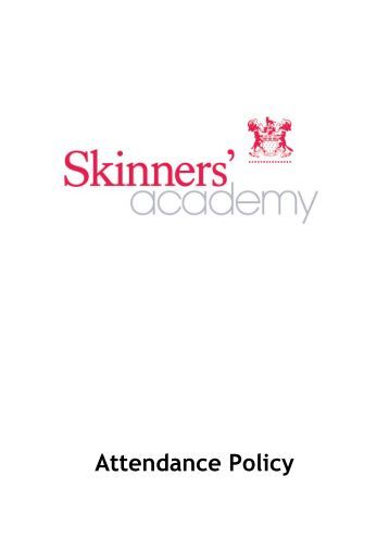 Attendance Policy - Skinners' Academy