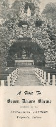 A Visit to Seven Dolors Shrine - Porter County, Indiana