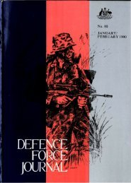ISSUE 80 : Jan/Feb - 1990 - Australian Defence Force Journal