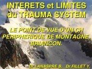 Trauma system Briançon - Secours-montagne.fr