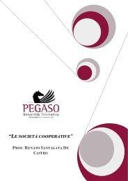"""""""LE SOCIETÀ COOPERATIVE - Università Telematica Pegaso"""