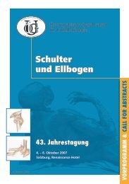 43. Jahrestagung - Österreichische Gesellschaft für Unfallchirurgie