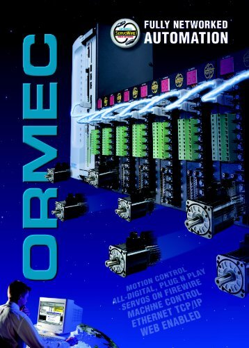 ORION/ServoWire Product Catalog - Ormec