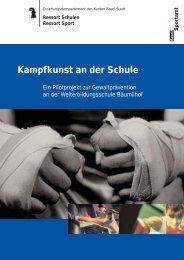 Kampfkunst an der Schule - Boxclub Basel