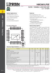HMC881LP5E - Hittite Microwave