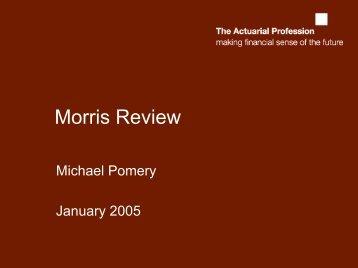 Morris Review