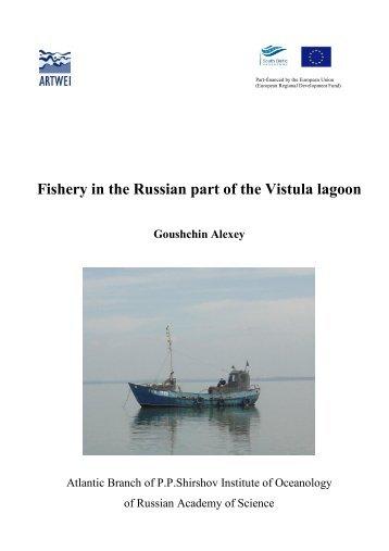 Fishery in the Russian part of the Vistula lagoon - Baltic Lagoon ...