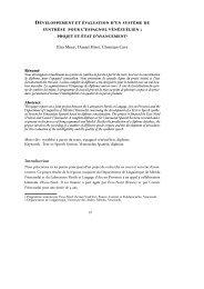 Développement et évaluation d'un système de synthèse pour l ... - HAL