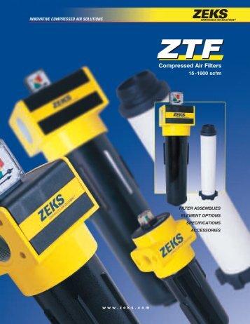 ZTF Filter Catalog - ZEKS Compressed Air Solutions