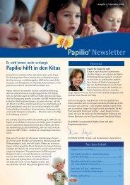 Papilio® Newsletter