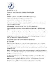 Bestyrelsesmøde 5. september 2012 - Albertslund Rideklub