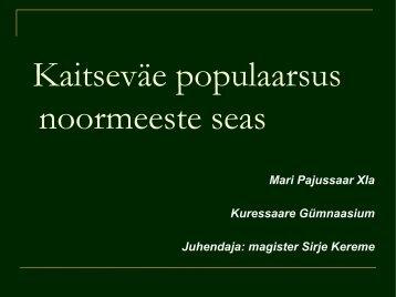 Mari Pajussaar - Archimedes