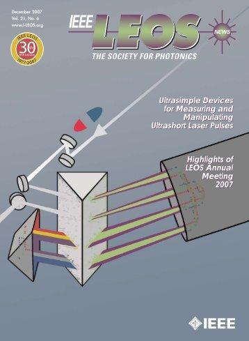 PDF of Dec. Issue - IEEE Photonics Society