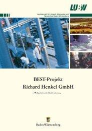 BEST-Projekt Richard Henkel GmbH - Umwelttechnologie und ...