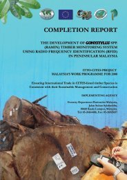 Completion report EN - ITTO