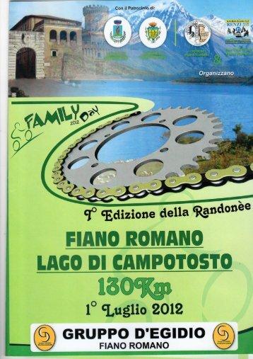 Programma completo - FianoRomano.org