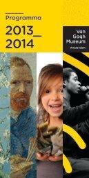 download het Van Gogh Museum programma 2013-2014 (pdf)
