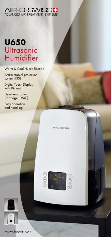 U650 Ultrasonic Humidifier