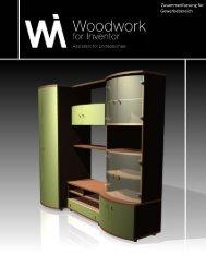 Zusammenfassung für Gewerbebereich - Woodwork for Inventor