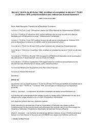 Décret n° 82-474 du 26 février 1982, modifiant et ... - REME