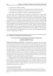 Chapter 14: U.S. EPA, Water Quality Trading Policy