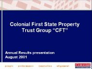 Slide 1 - First State Investments