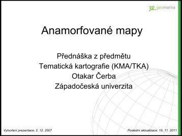 Anamorfované mapy