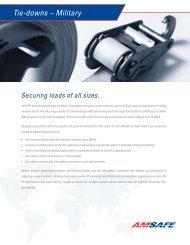 Tie-down Straps - AmSafe