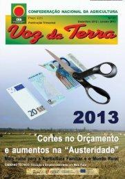 Voz da Terra, Dezembro 2012/Janeiro 2013 - CNA