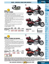 Exhaust - Harley-Davidson® Parts and Accessories