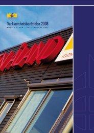 Verksamhetsberättelse 2008 - Posten Åland