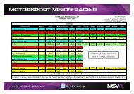 17/18 August 2013, Silverstone GP Timetable - ISSUE TWO ...