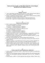 Státní závěrečné zkoušky na Filozofické fakultě OU včetně obhajob ...