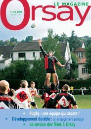 k Rugby : une équipe qui monte ! - Orsay