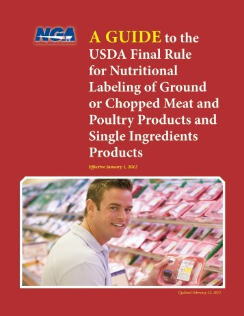 A Guideto the - National Grocers Association
