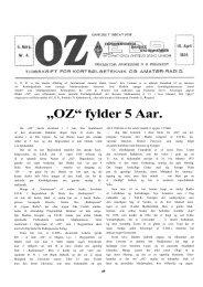 """""""OZ"""" fylder 5 Aar. - Søg i OZ"""