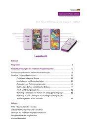 Lesebuch [3,8 MB] - Bundesstiftung zur Aufarbeitung der SED-Diktatur