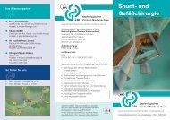 AWO Flyer Shuntchirurgie.indd - AWO Gesundheitsdienste gGmbH