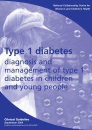 Type 1 diabetes - redGDPS