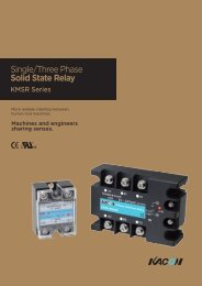 Single/Three Phase Solid State Relay