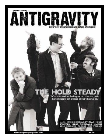 November 2006 (PDF) - Antigravity Magazine