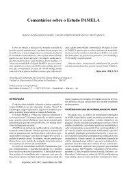 Comentários sobre o Estudo PAMELA - Departamentos Científicos