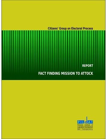 Download Report [PDF] - Pildat.org